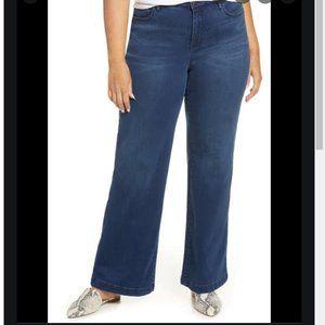 NYDJ wide leg trouser jeans 18W